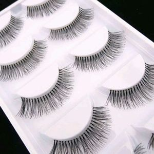 Falsies eyelashes natural long black 5 ct 🚫LAST 1